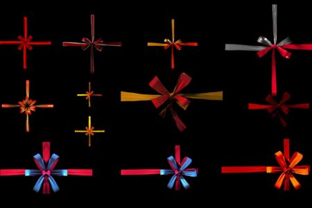 Gifts-Ribbon-Promo-Video-mapping-projection-3d-animation-3